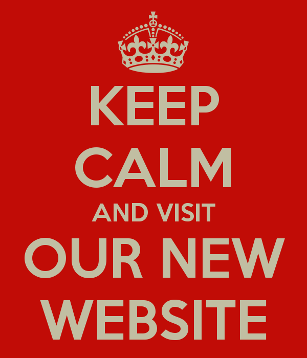 keep calm and visit our new website 21